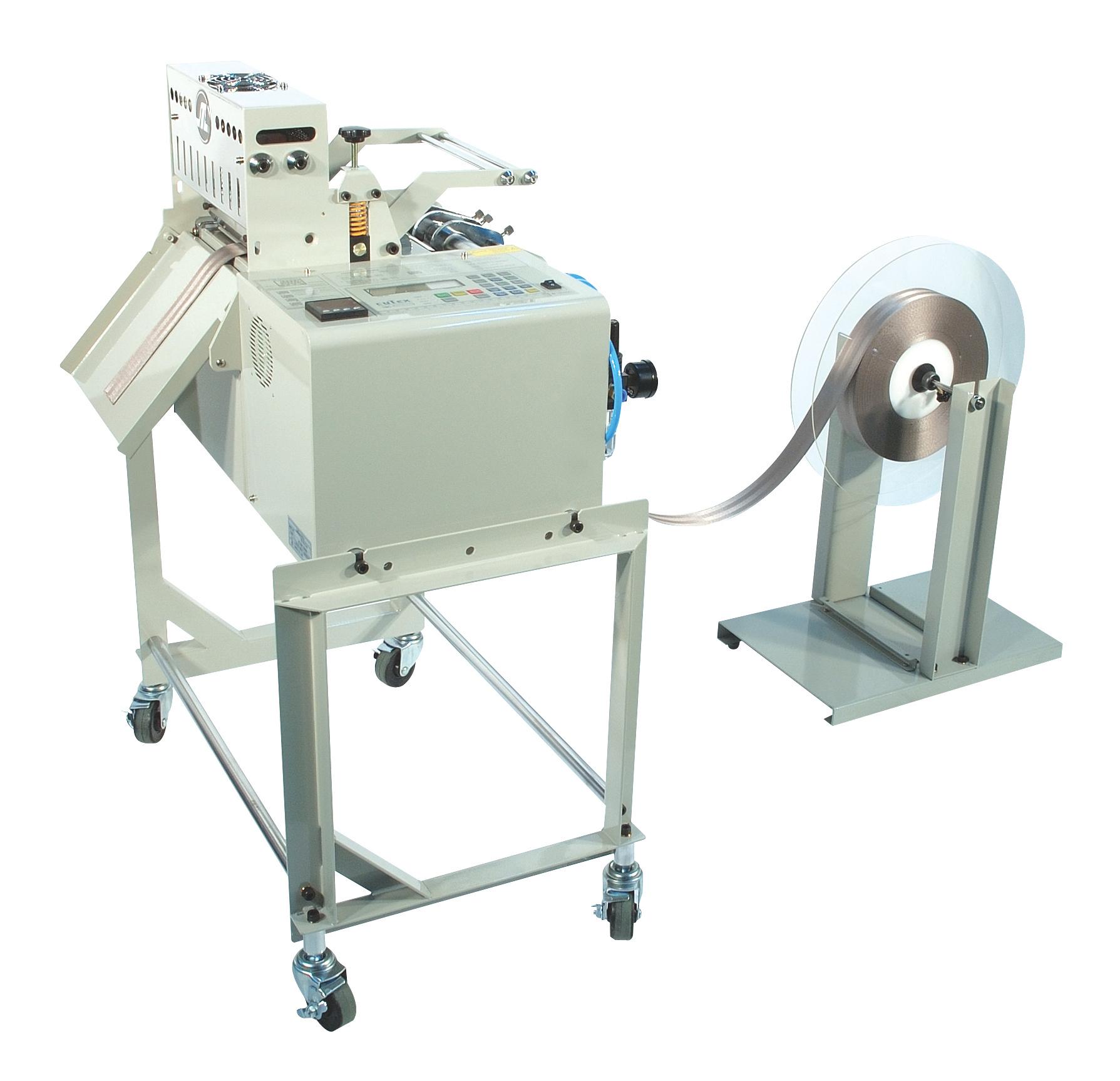 Máy cắt dây đai chéo bằng dao nhiệt Cutex
