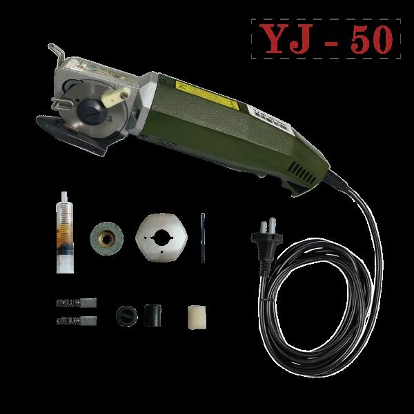 máy cắt vải cầm tay mini YJ-50