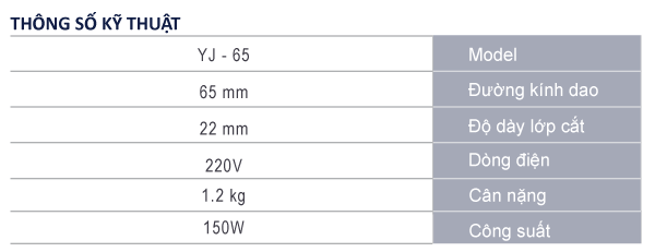 bản thông số kỹ thuật máy cắt vải cầm tay mini