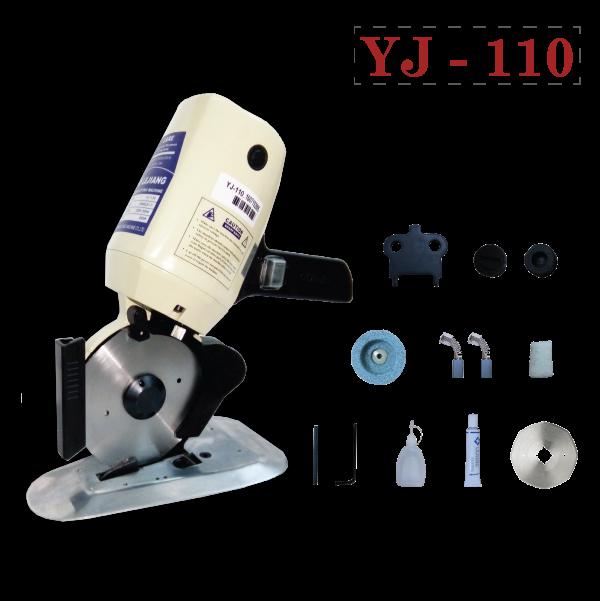 máy cắt vải cầm tay mini YJ
