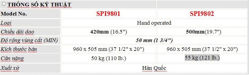 thông số kỹ thuật máy cắt vải mẫu dạng răng cưa