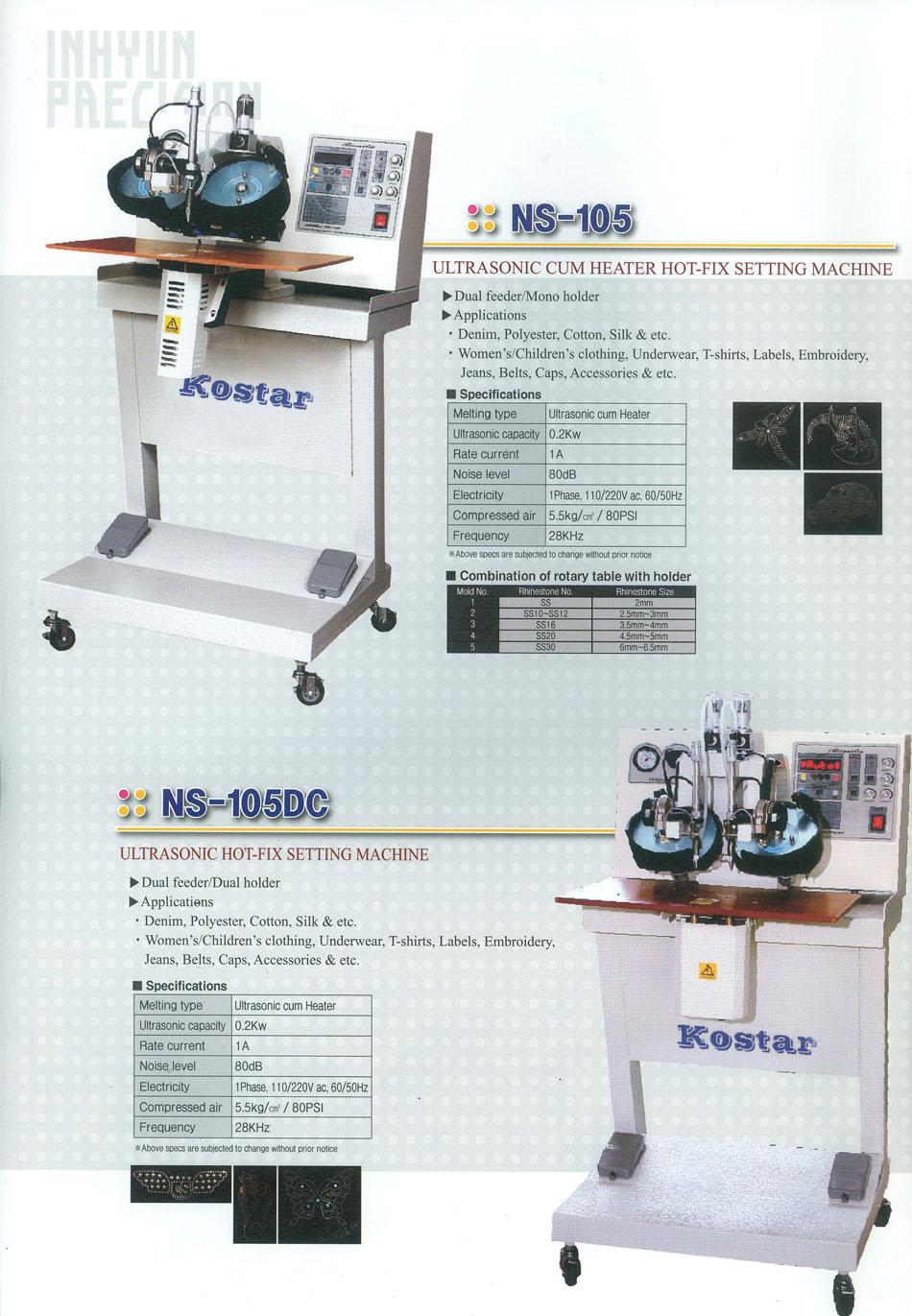 máy đính hạt kostar ns-105-dc