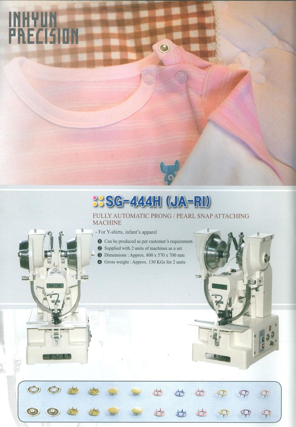 máy đóng nút tự động kostar sg-444h