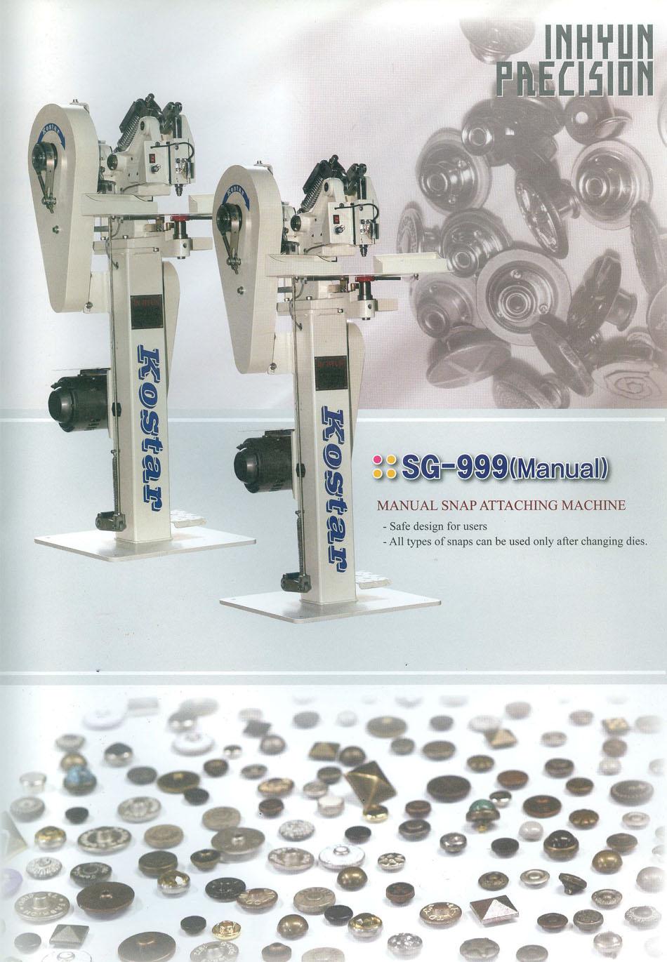 máy đóng nút tự động kostar sg-999
